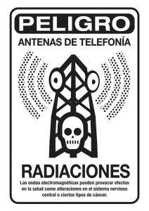 cartel antena